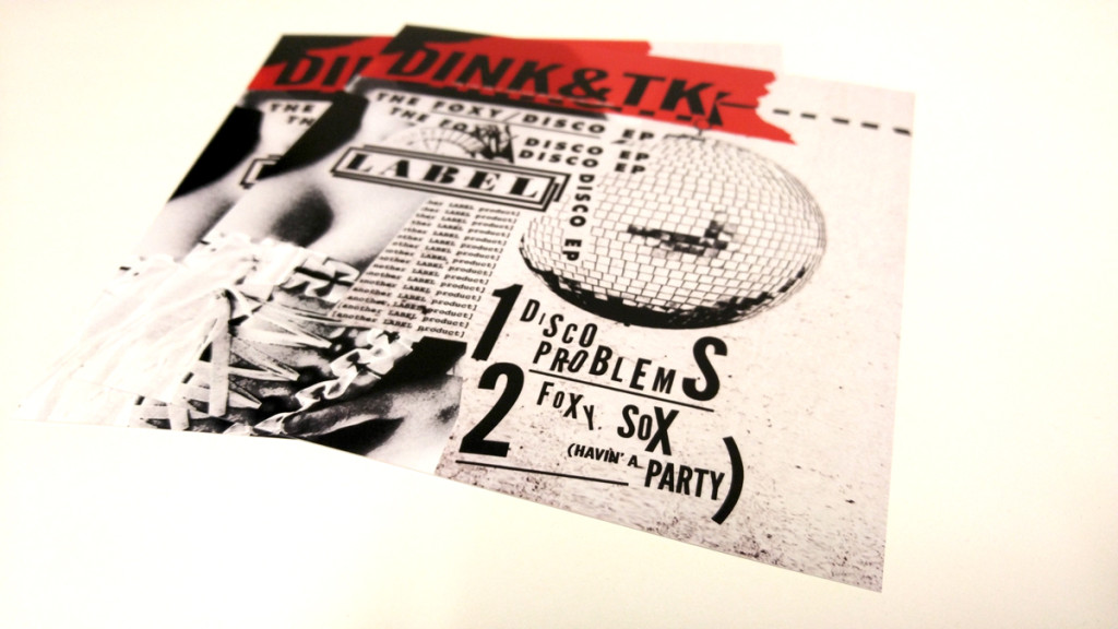 Dink & TK 'The Foxy/Disco EP' Print